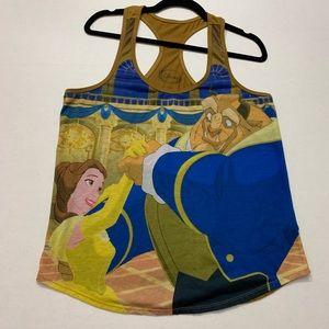 Disney Beauty and the Beast Racerback Tank